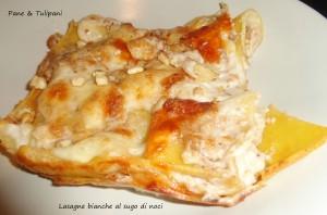 lasagne bianche al sugo di noci