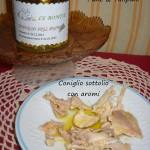Coniglio sott'olio con aromi