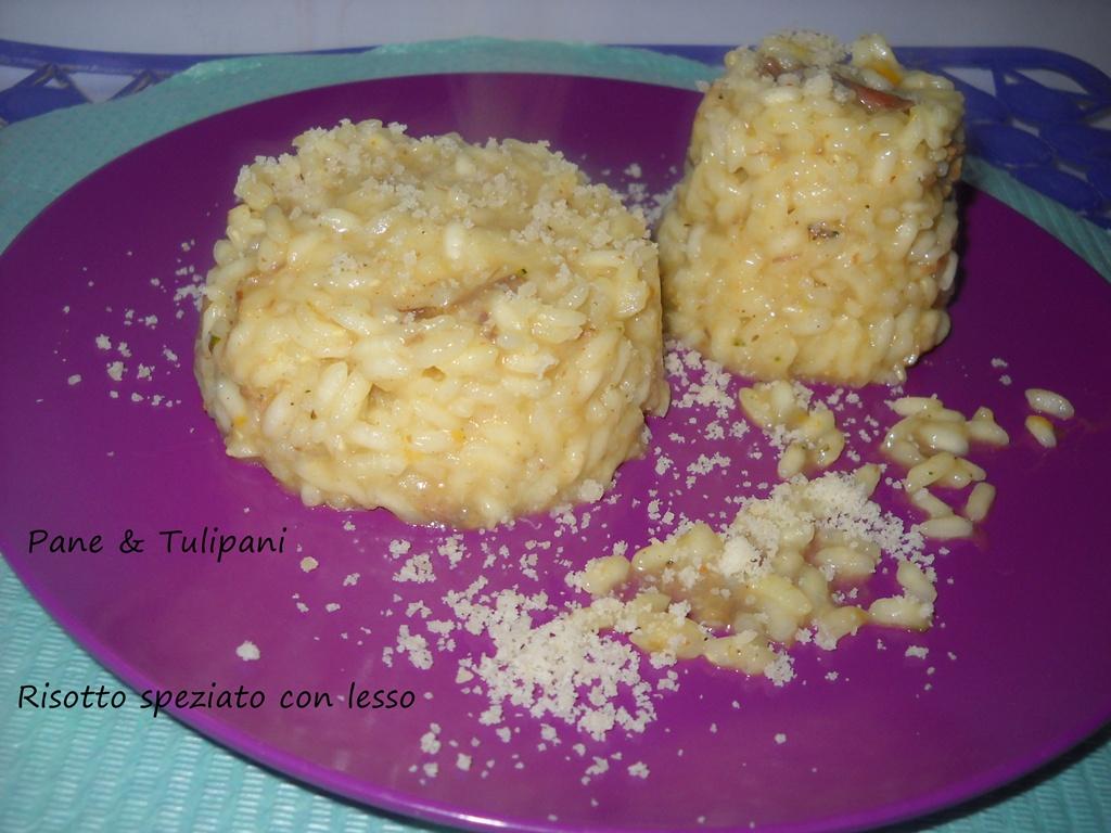 risotto speziato con lesso