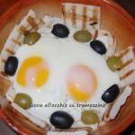 Uova all'occhio su tramezzino