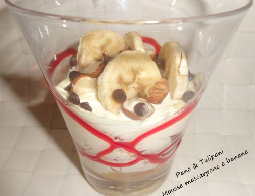 Mousse mascarpone e banana