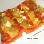 Lasagnette pesto e ricotta