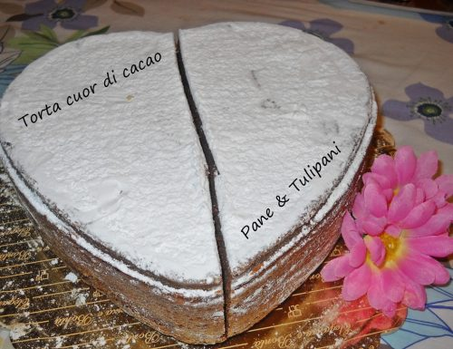 Torta cuor di cacao