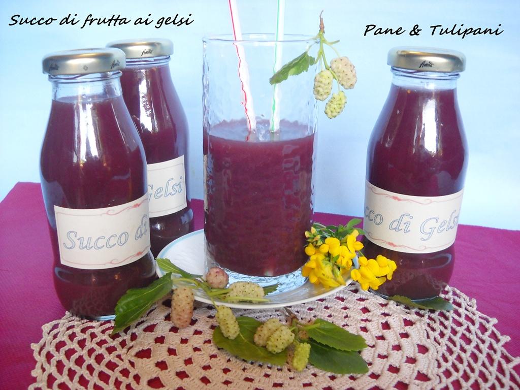 succo di frutta ai gelsi