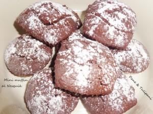 Mini muffin al Nescquik