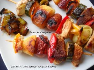 551-Spiedini con patate novelle e porri.3