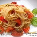 Spaghetti piccanti con salsa di soia