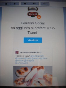 Ferrarini-tigelle allo yugurt