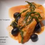Merluzzo con asparagi ed olive