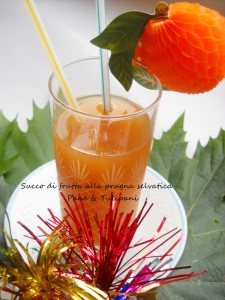 Succo di frutta alla prugna selvatica