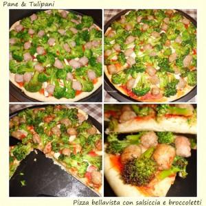 pizza bellavista con salsiccia e broccoletti.3