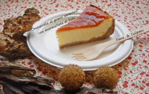 cheesecake al grano saraceno con marmellata di fichi.2