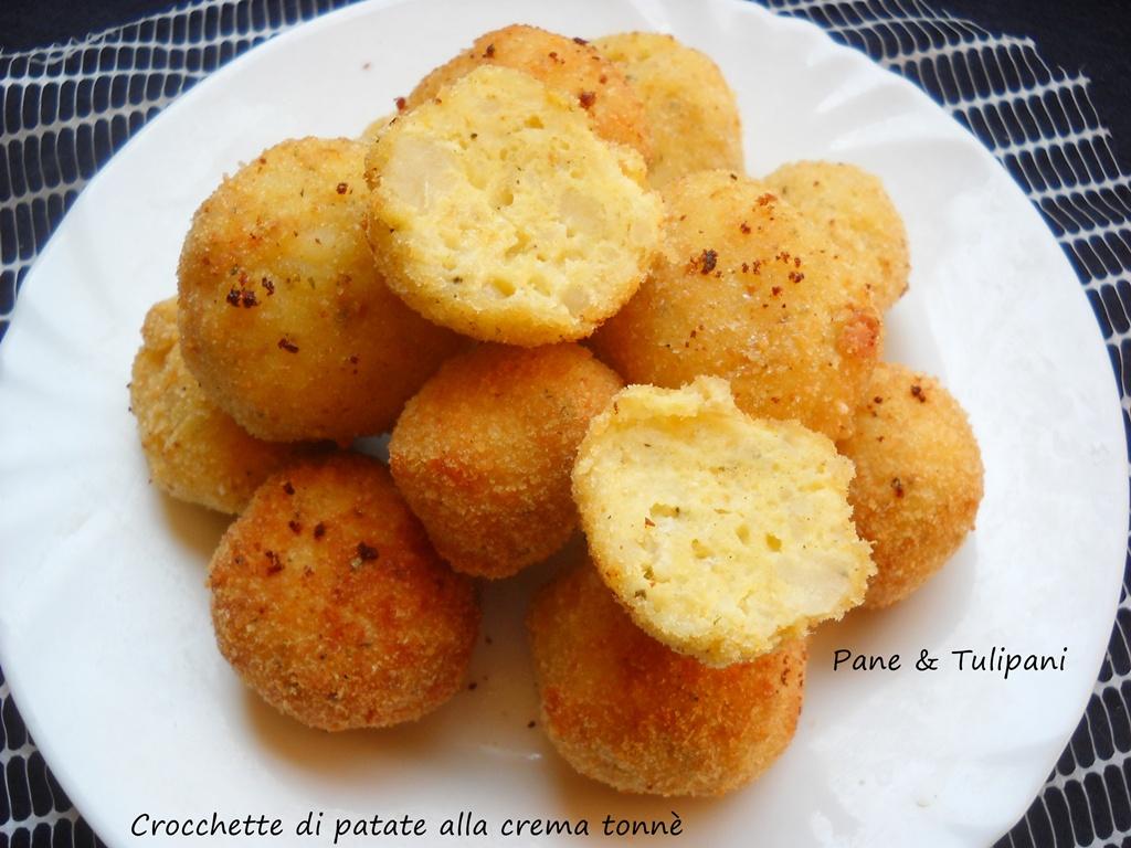 crocchette di patate alla crema tonnè