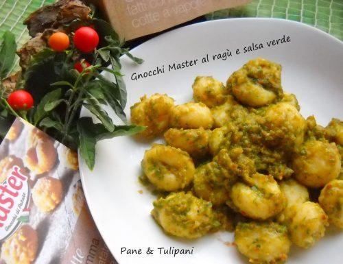 Gnocchi Master al ragù e salsa verde