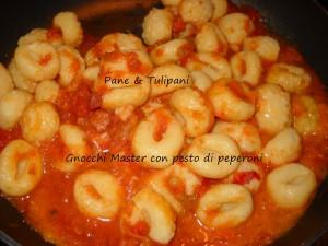 Gnocchi Master el pesto di peperoni.2