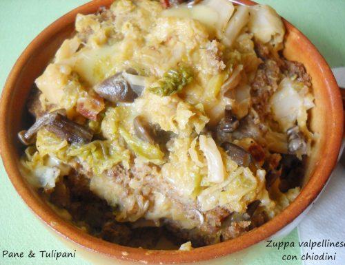Zuppa valpellinese con chiodini