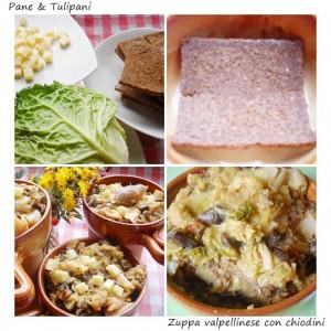 Zuppa valpellinese con chiodini.2