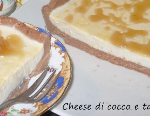 Cheese di cocco con tarassaco