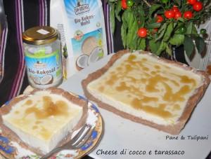 Cheese di cocco e tarassaco.4