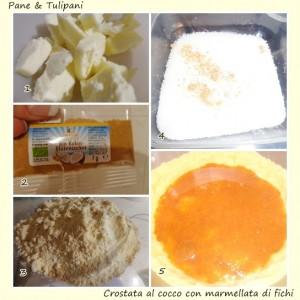 Crostata al cocco con marmellata di fichi.3
