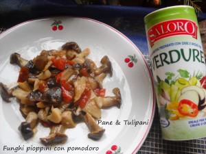 Funghi pioppini con pomodoro.2
