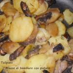 Mazze di tamburo con patate