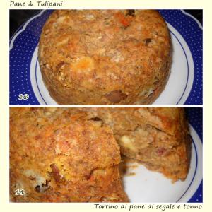 Tortino di pane di segale e tonno.5