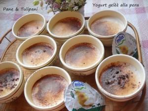 yogurt gelèè alla pera