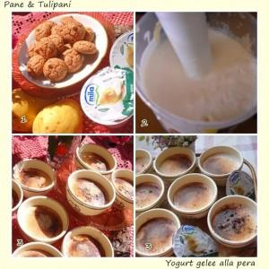 Yogurt gelèè alla pera.2
