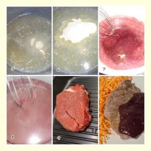 Filetto con riduzione al vino rosso.3