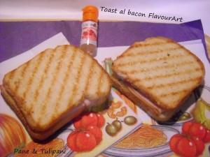 Toast al bacon 1