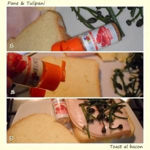 Toast al bacon .2
