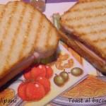 Toast al bacon