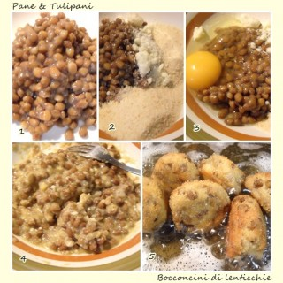 Bocconcini di lenticchie.2