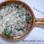 Broccoletti nel coccio