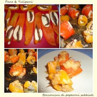 Bocconcini di peperoni sabbiati.4