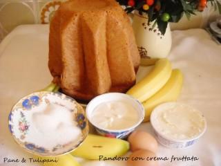 Pandoro con crema fruttata.11