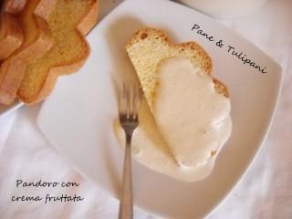 Pandoro con crema fruttata.2