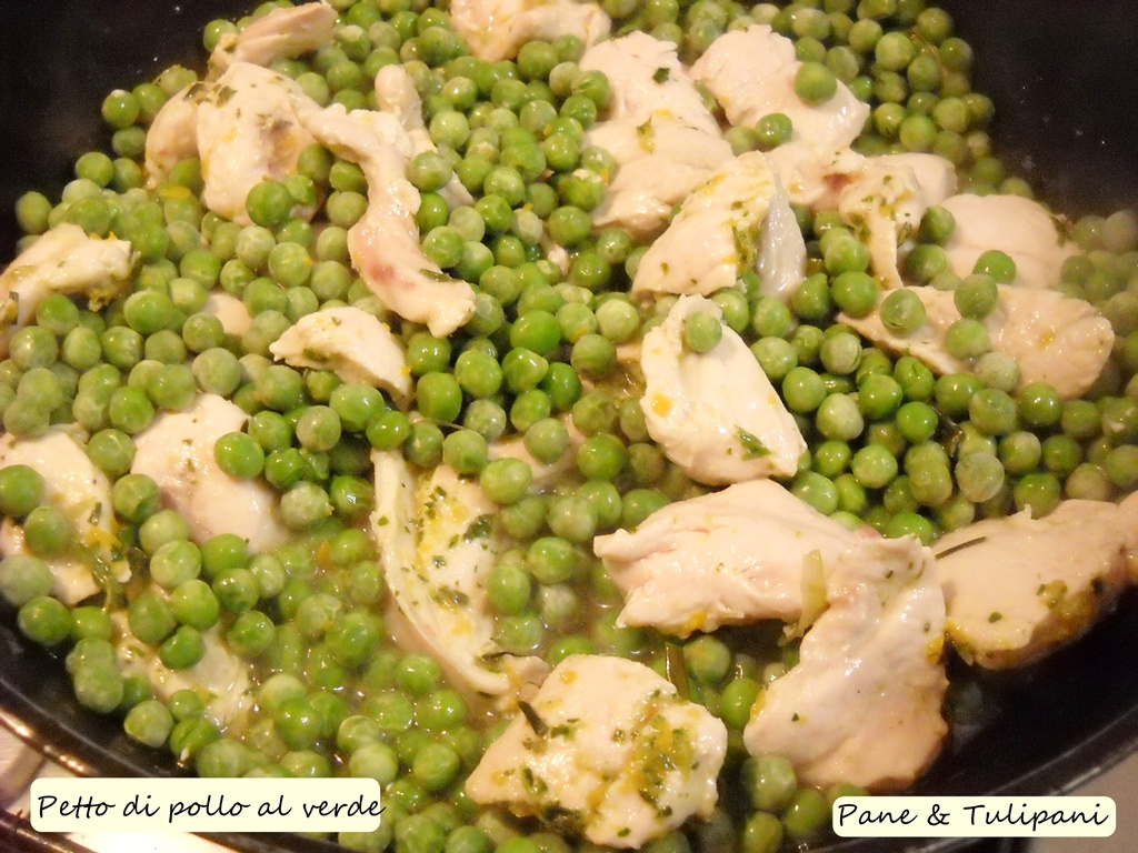 petto di pollo al verde