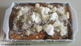 Terrina di melanzane impanate glutenfree
