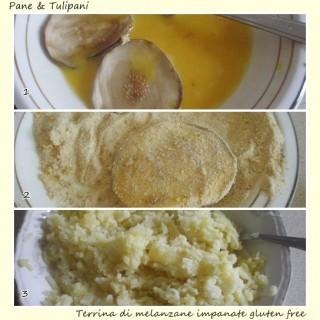 Terrina di melanzane impanate gluten free.2