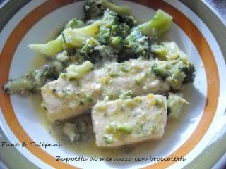 Zuppetta di merluzzo con broccoletti.2
