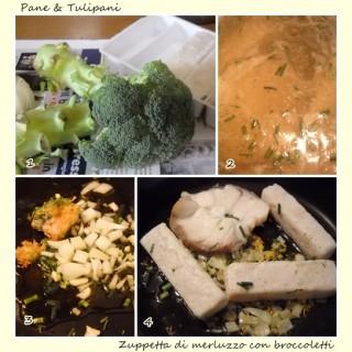 Zuppetta di merluzzo con broccoletti.3