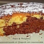Torta marmorizzata al Nesquik