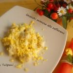 Gnocchi mimosa allo zafferano e paprika