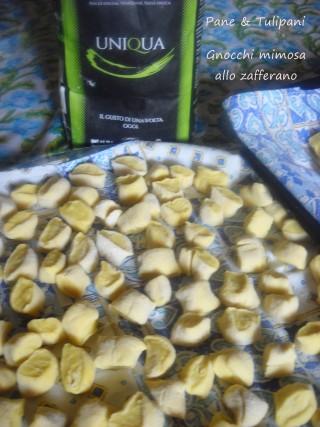 Gnocchi mimosa allo zafferano.8