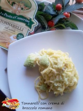 Tonnarelli con crema di broccolo romano.3