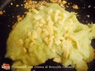 Tonnarelli con crema di broccolo romano.6