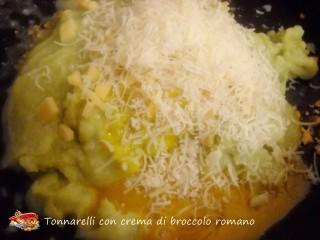 Tonnarelli con crema di broccolo romano.8