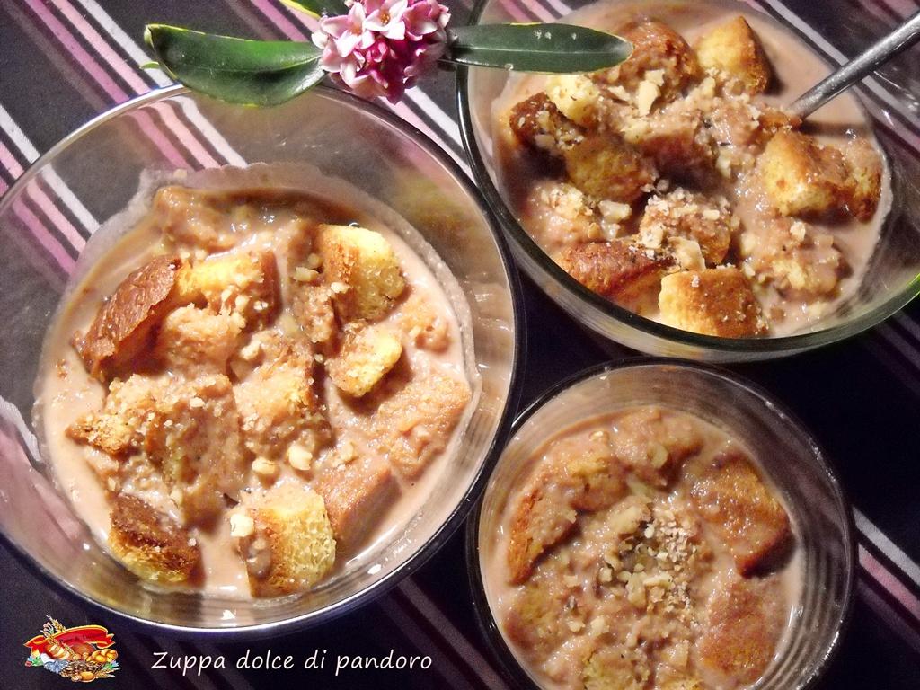 Zuppa dolce di pandoro